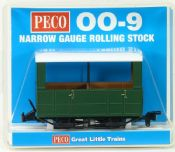 Peco GR520UG Glyn Valley Tramway Open-side Coach